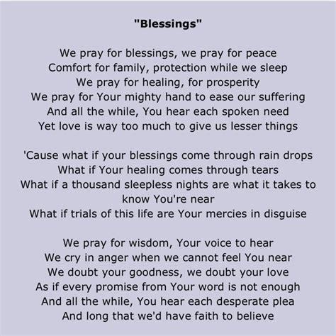 Printable Lyrics Laura Story Blessings | dearhusband 230815 berryvonne dayre