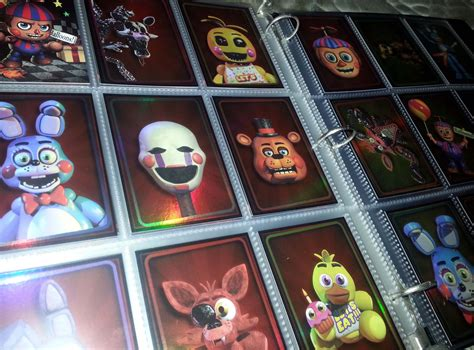 Freddy S Gift Card - five nights at freddys fnaf 2016 trading cards you choose lot finish your set