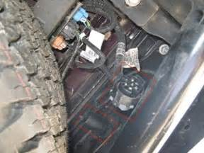 Service Trailer Brake System On Gmc 2008 Gmc 4x4 Half Ton I Removed My Brake Controller From