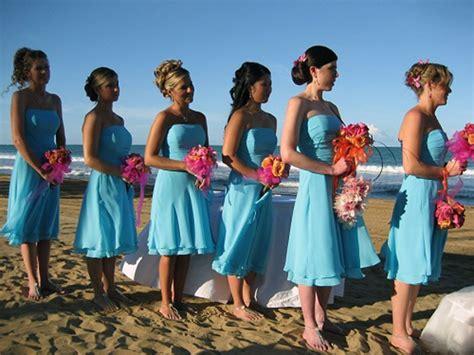beach wedding bridesmaid dresses ideas pictures fashion