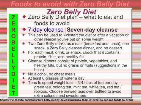 Stomach Detox Diet Plan by Zero Belly Diet David Zinczenko 2014