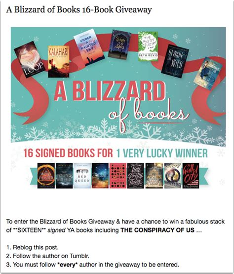 Great Giveaway Ideas - great prize ideas for book promotion contests and giveaways