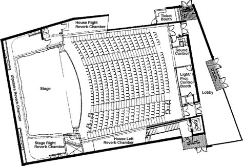 layout plan view recital hall plan view music uc santa cruz