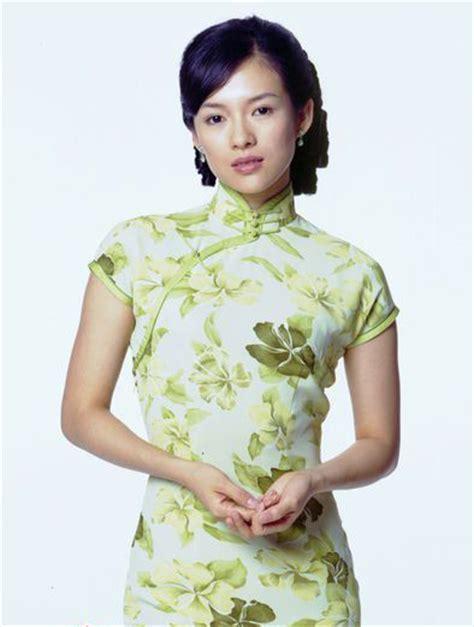 zhang ziyi cheongsam qipao chinese cheongsam china org cn