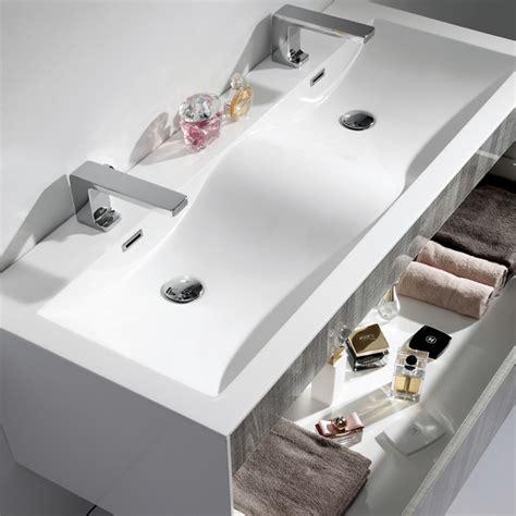 1200 bathroom vanity units lusso stone encore double designer wall mounted bathroom