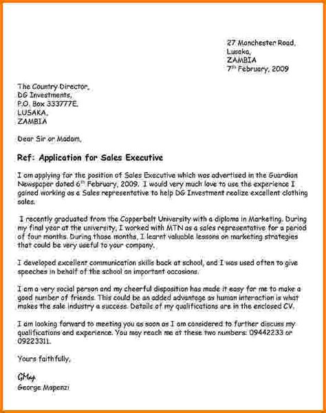 covering letter when applying for a 8 formal letter applying for a financial statement form