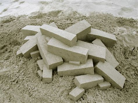 gallery of calvin seibert sculpts impressive modernist ultra modern sand castles by calvin seibert scene360