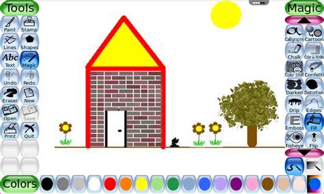 paints online tux paint online rollapp