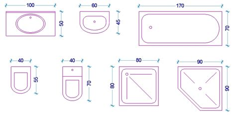 sanitari bagno di piccole dimensioni le misure dell uomo nell abitazione il bagno web architetto