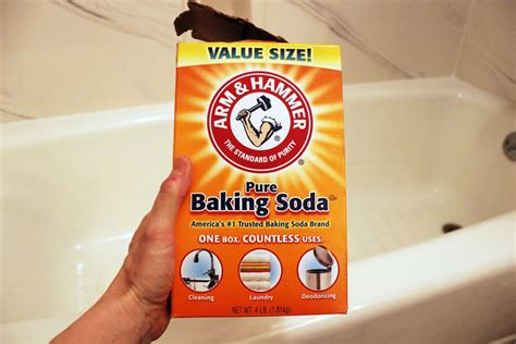 clean bathtub baking soda how to clean a bathtub naturally