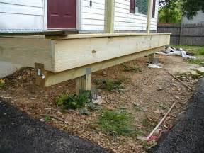 How To Build A Small Porch For A Mobile Home building a front porch overhang studio design gallery best design