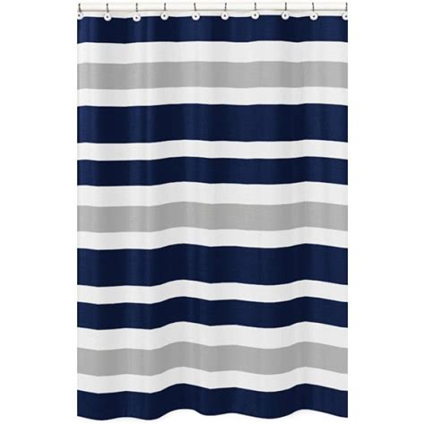 Navy And Grey Curtains 1000 Ideas About Gray Shower Curtains On Shower Curtains Curtains And Striped