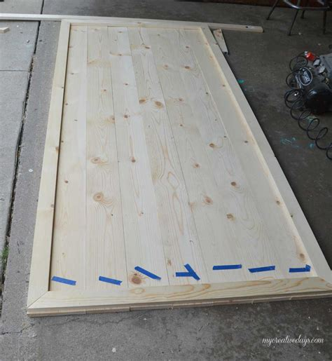 How To Build A Sliding Closet Door Diy Sliding Closet Door My Creative Days