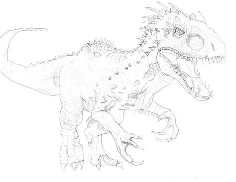M Drawing12 by Jurassic World Drawing At Getdrawings Free For