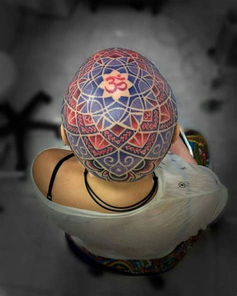 mandala head tattoo 17 best images about mandala on moon