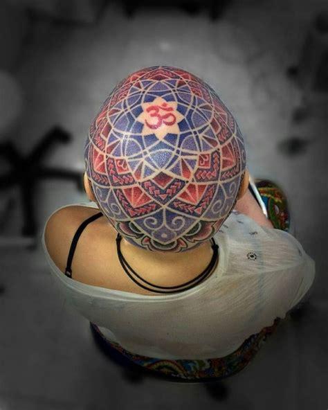 mandala head tattoo 17 best images about mandala on moon