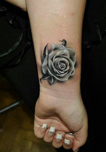 pin up rose tattoo designs inspiration ideas