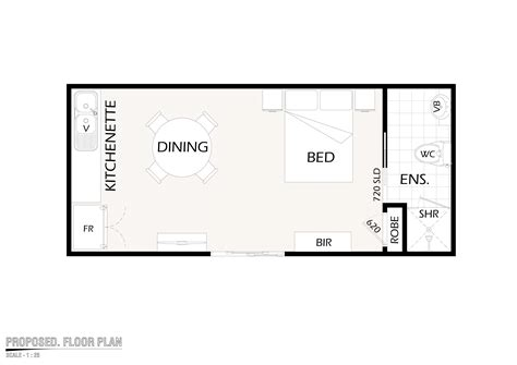 Flat Floor Plan by Flats