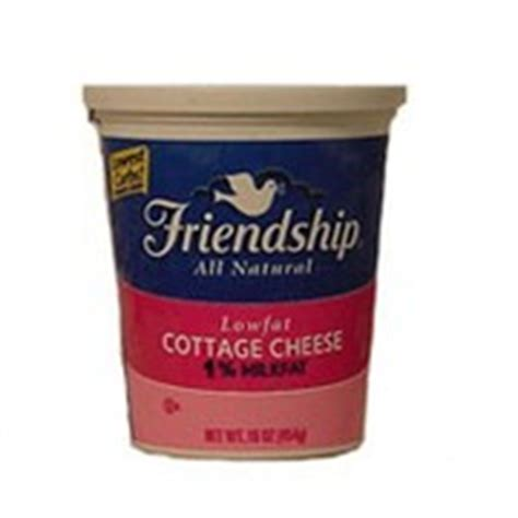 4 cottage cheese nutrition friendship cottage cheese lowfat calories nutrition