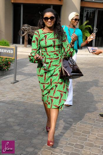new iro and buba ankara style get the look omotola jalade ekeinde in an alter ego