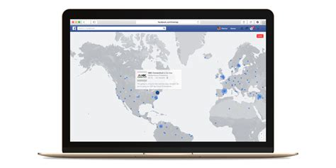 facebooks map      discover  video streams
