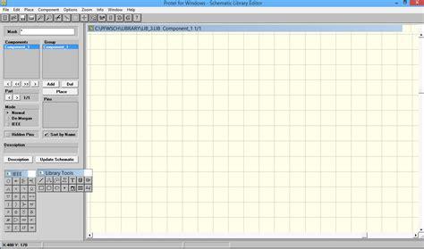 Memory Buat membuat komponen memory card menggunakan protel schematic library editor