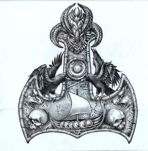 25 best ideas about thor hammer tattoo on pinterest