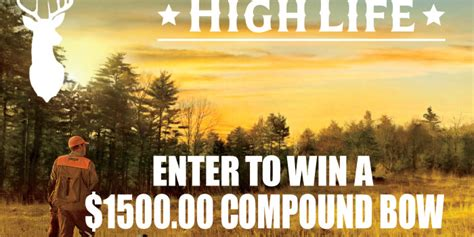 Compound Bow Giveaway - monarch beverage company indiana owned and operated since 1947