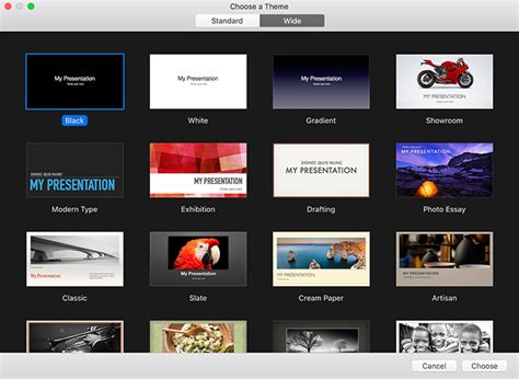 keynote technical themes keynoteを使ってスライドを作成 かっこよくプレゼンしよう webクリエイターボックス