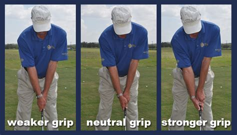 proper golf grip and swing chuck westergard golf professional golf instruction