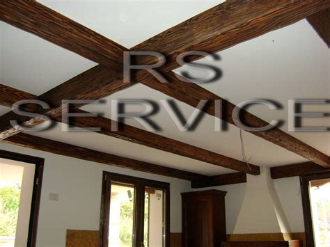 travi finte per soffitto rs service arredo per interni finti travi e falsi