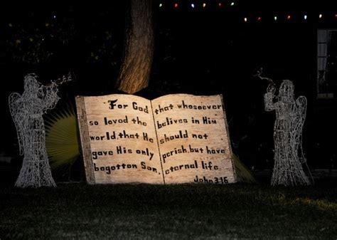 bible verse lawn decoration  stock photo public domain pictures
