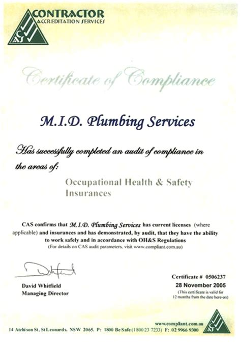 Plumbing Certification by Untitled Members Ozemail Au