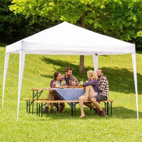 gazebo pieghevole 3x3 gazebo pieghevole da giardino 3x3 m tectake