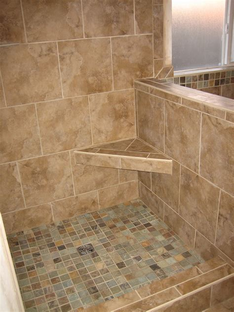 tile seat in shower showers and tub surrounds rk tile and remodeling