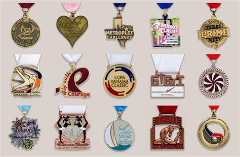 Handmade Medals - custom gymnastics medals