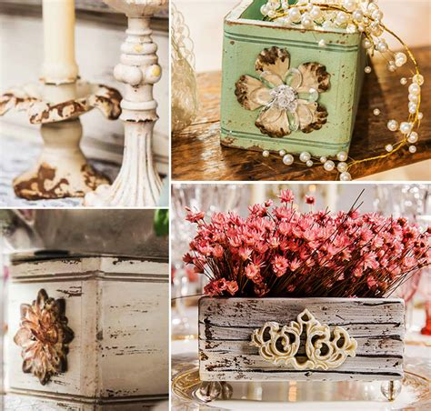 shabby chic table decorations simple elegance rustic shabby chic wedding theme