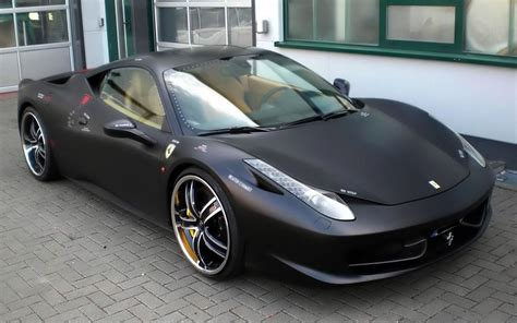 ferrari 458 black black ferrari italia wallpaper johnywheels com
