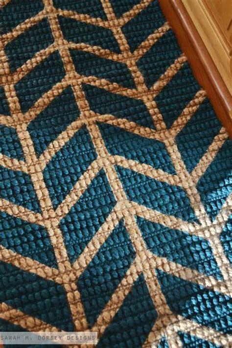 how to paint a jute rug painted jute rug