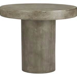 Grey Bistro Table Fuze Grey Bistro Table Cb2