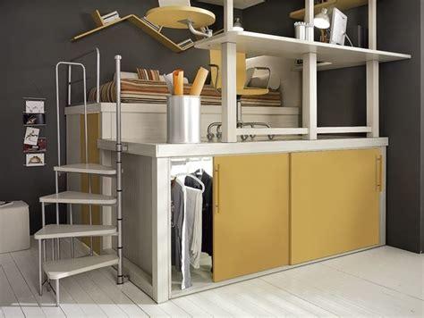 letti rialzati tumidei camerette stile e funzionalit 224 camerette moderne