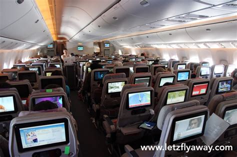 emirates cabin emirates economy class flight review