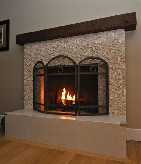 fireplace redo wrapped hearth and base