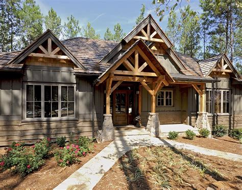 timber frame homes by mill creek post beam company timber frame exteriors gallery mill creek post beam