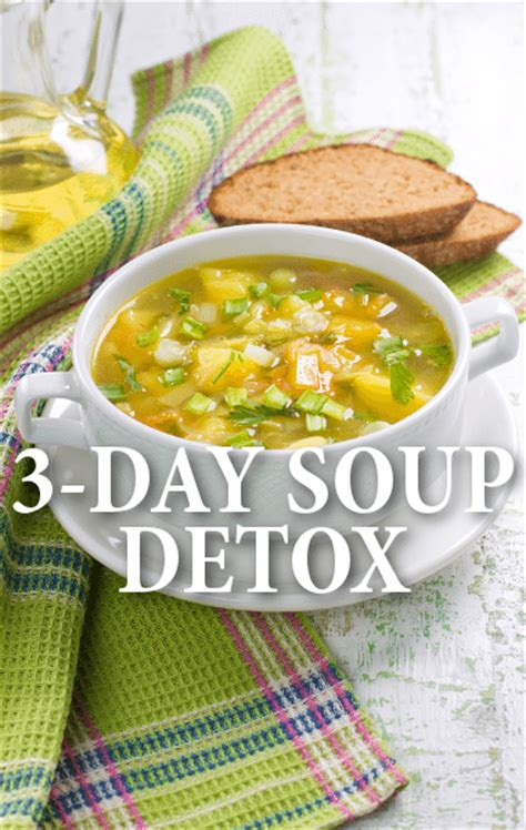 3 Day Detox Soup Cleanse by Dr Oz 3 Day Soup Detox Lose Weight Tips