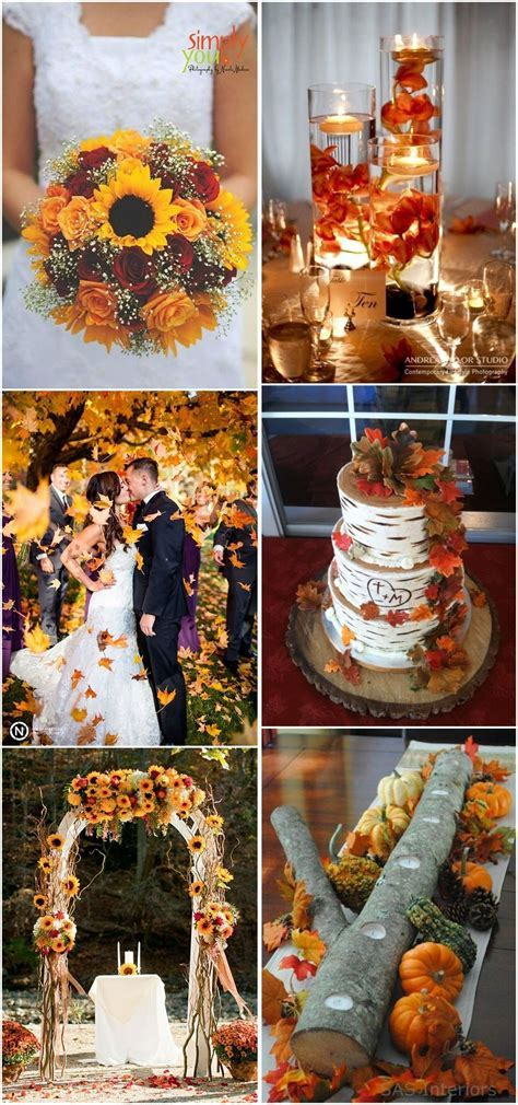 23 Best Fall Wedding Ideas in 2017   Weddings, Wedding and