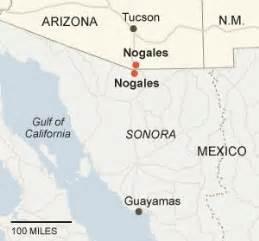 nogales ariz and nogales mexico nytimes