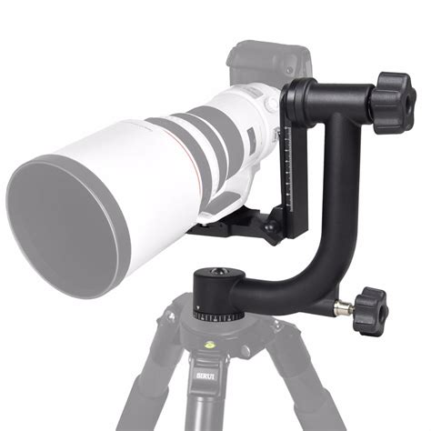 Gimbal Tripod Profesional Untuk Heavy Telephoto Lens new professional aluminum gimbal tripod for heavy telephoto lens dslr 360 panoramic
