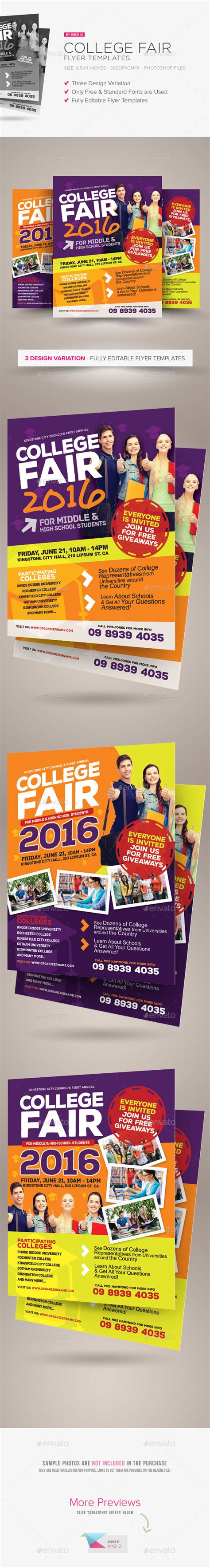College Fair Flyer Template 187 Dondrup Com College Fair Flyer Template
