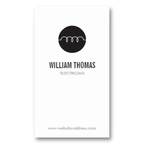 Electrician Business Cards Templates Free by 31 Best Business Cards For Electricians Electrical